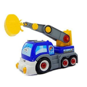 6558 - Caminhão Big X Truck - Homeplay - Azul