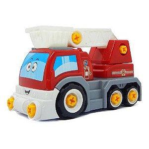 6558 - Caminhão Big X Truck - Homeplay - Vermelho