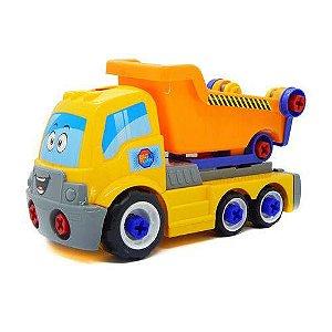 6558 - Caminhão Big X Truck - Homeplay - Amarelo