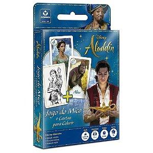 Jogo do Mico + Cartas para Colorir Disney Aladdin - Copag