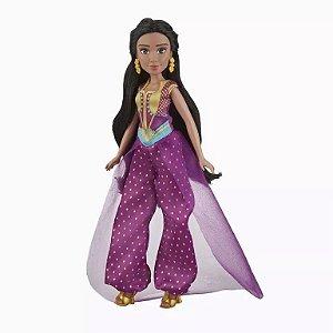 E5446 Boneca Princesa Jasmine Aladdin 30cm Disney Básica - Hasbro
