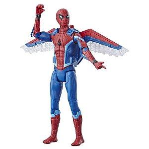 Figura Articulada 20 Cm - Disney - Marvel - Spider-Man - Longe de Casa - Homem Aranha com Asas - Hasbro