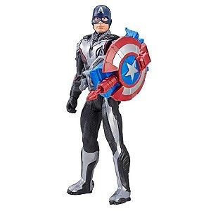 E3301 Marvel - Avengers Ultimato - Capitão América e Acessórios FX - Hasbro