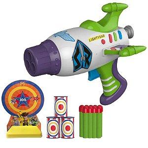 Lançador de Dardos com Alvos - Toy Story 4 - Super lançador de Dardos - Toyng