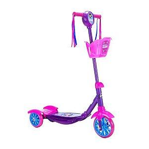 Patinete 3 Rodas Princesinhas - Unik Toys