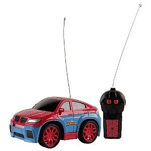 Carro De Controle Remoto Homem Aranha High Speed - Candide