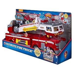 Patrulha Canina - Caminhão De Bombeiro - Resgate Extre