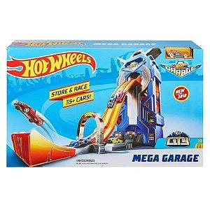 Hot Wheels Mega Garagem Rotativa FTB68 - Mattel