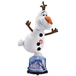 Pelúcia Frozen Olaf Gira e Fala - Multikids