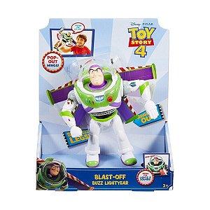 Buzz Lightyear Voo Espacial com luz e som - Mattel