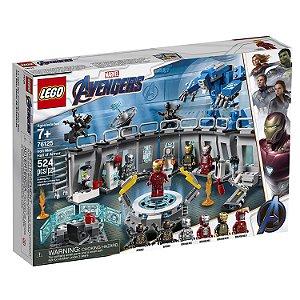 LEGO Vingadores - Salão das Armaduras do Homem de Ferro - 76125