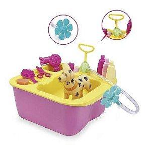 8011 - Acqua Pet Brinquedo Banho Cachorrinho - Xplast