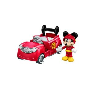 Veículo Transformável 2 em 1 - Disney - Mickey Aventura Sobre Rodas - Mickey - Fisher-Price