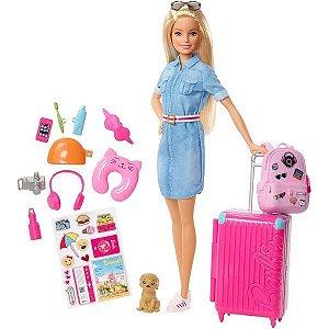 Boneca Barbie Viajante Explorar e Descobrir - Mattel
