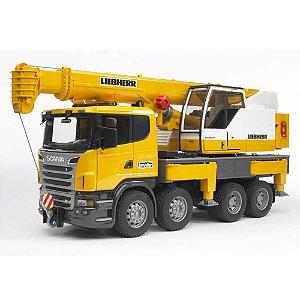 Caminhão Scania R Series Com Guindaste Liebherr - Bruder