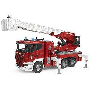 Caminhão De Bombeiro Scania R Series - Bruder