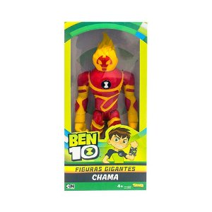Figuras Gigantes - Chama Ben 10 - Sunny