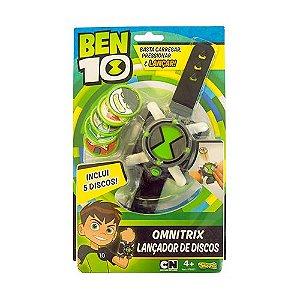 Ben 10 - Omnitrix Lançador de Discos - Sunny