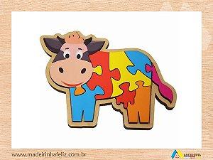 Quebra-Cabeça Vaca