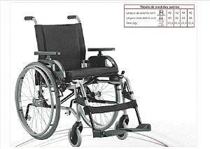 Cadeira de Rodas Taipu em Alumínio - Jaguaribe