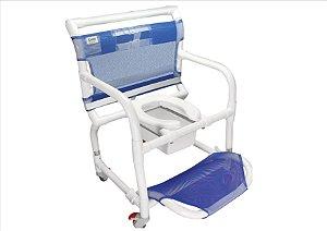 Cadeira Carcilife p/ Obeso (Braços Escamoteáveis)