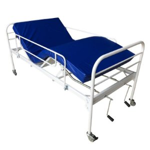 Cama Hospitalar Fawler 2 Movimentos Manual
