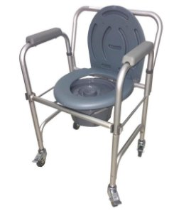 Cadeira De Banho (higiene Intima) New Inspire - 100 Kg Mobil