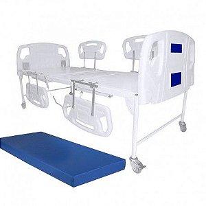 Cama Hospitalar Motorizada 2 Movimentos Luxo