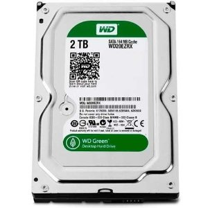 HDD INTERNO - WESTERN DIGITAL *GREEN* 2 TB 7200rpm -  WD20EZRX