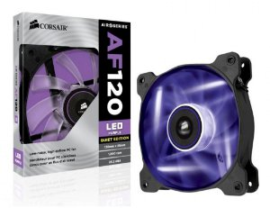 CASE FAN - CORSAIR AF 120 - LED ROXO - 120mm - CO-9050015-PLED