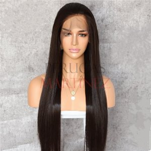 FULL LACE FRONT MELISSA CASTANHO ESCURO LISO