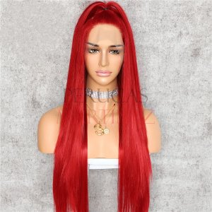 Lace Front Melissa Vermelho Liso