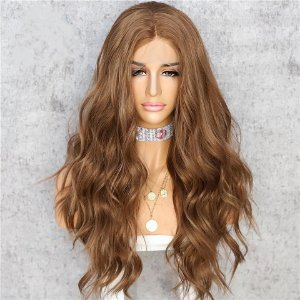 LACE FRONT JADE CASTANHO CLARO