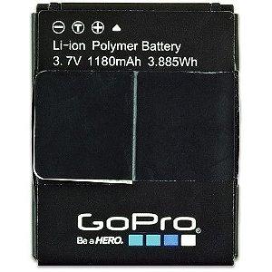 GoPro Bateria Original Recarregável 1180mAh para Hero 3 e Hero 3+