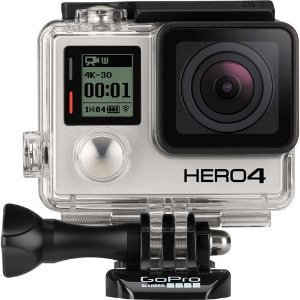 Câmera Filmadora GoPro Hero 4 Black Adventure CHDHX-401