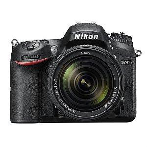 Câmera Nikon DX D7200 com Lente AF-S DX 18-105mm f/3.5-5.6G ED VR