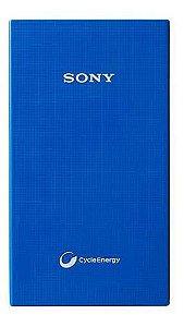 Carregador USB Sony 3400mAh Azul