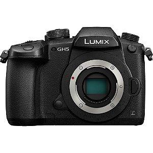 Câmera Mirrorless PanasonicLumix GH5 somente corpo
