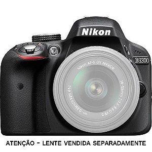 Câmera Nikon DX D3300 somente corpo