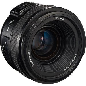 Lente Yongnuo YN 35mm f/2 para Nikon FX