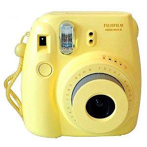 Câmera Fujifilm Instax Mini 8 Amarelo