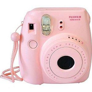 Câmera Fujifilm Instax Mini 8 Rosa OSC.