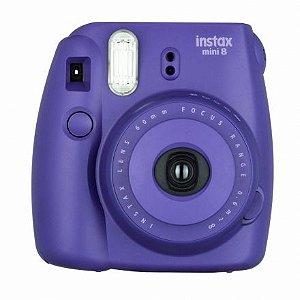 Câmera Fujifilm Instax Mini 8 Roxo