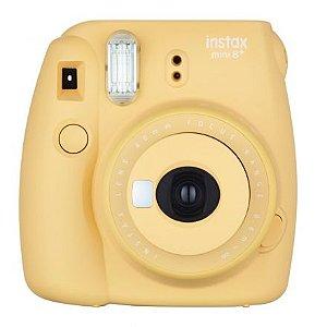 Câmera Fujifilm Instax Mini 8 Plus Amarelo Honey