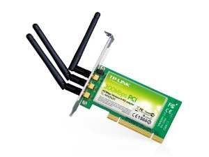 Placa de Rede PCI Wireless N 300Mbps modelo TL-WN951N