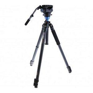 Tripé de Alumínio Benro Kit Pro-S para Câmeras de Vídeo modelo A3573FS6