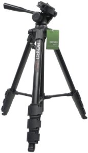 Tripé de Alumínio Benro Kit Digital para Foto e Vídeo modelo T660 EX