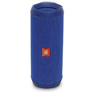 Caixa de Som Portátil JBL Flip 4 Azul