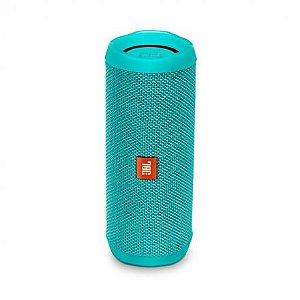 Caixa de Som Portátil JBL Flip 4 Verde Piscina