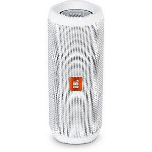 Caixa de Som Portátil JBL Flip 4 Branco